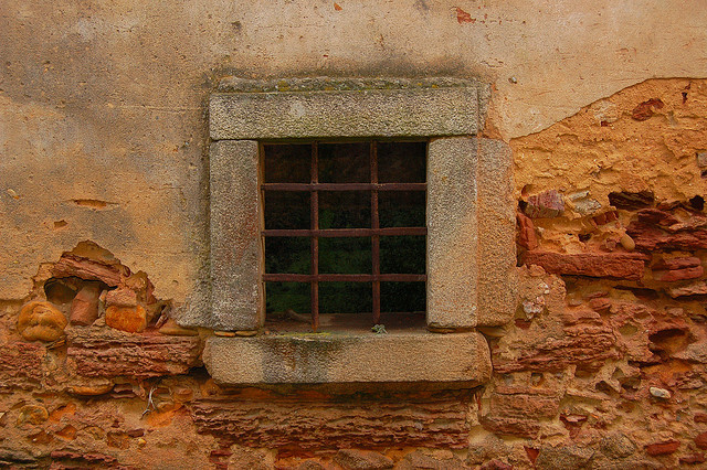 Old…..but beautiful window:) by anacm.silva on Flickr.