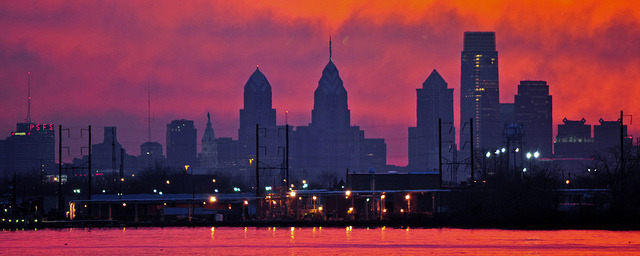 Philadelphia Sunset by PMillera4 on Flickr.