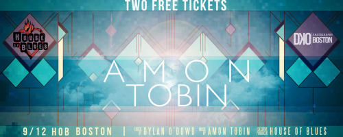 WIN TWO FREE TICKETS!  Amon Tobin at House of Blues Boston!  Check out DKOPhtography to find out more!