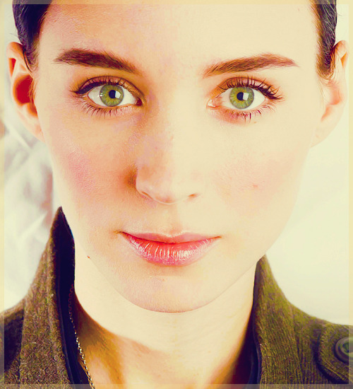 blackbird-dreams:  [✲] Incredible People ↳ Rooney Mara  There wew certainly things i was scared to do, but it never thought I wasn't up for the challenge.