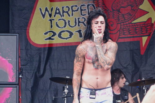 audreyadrenaline:  Ronnie Radke | Falling In Reverse | Vans Warped Tour 2012 | West Palm Beach, FL| July 28, 2012