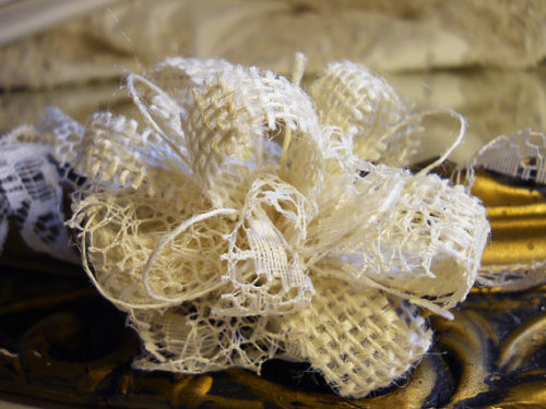 Set of 20 Burlap Wedding Bow Ties for table decor, champagne glasses, favors, napkin ties, flower girl baskets, ring bearer pillows.