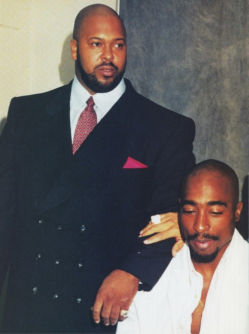 15 Aug 1996 with Suge Knight at the Brotherhood Crusade Rally