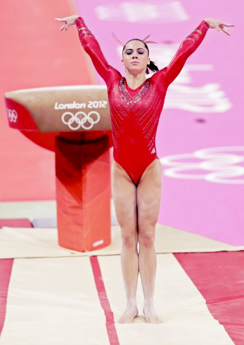 OLYMPICS DAY 4 Sent to the Olympics to accomplish one thing, McKayla Maroney lands the vault of a lifetime.
