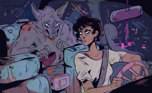 jaybeep:  Sorry I can't pay for this taxi ride I'm just a poor werewolf.
