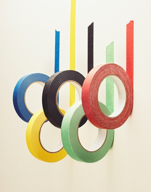 katespadeny:  tape installations #thingswelove