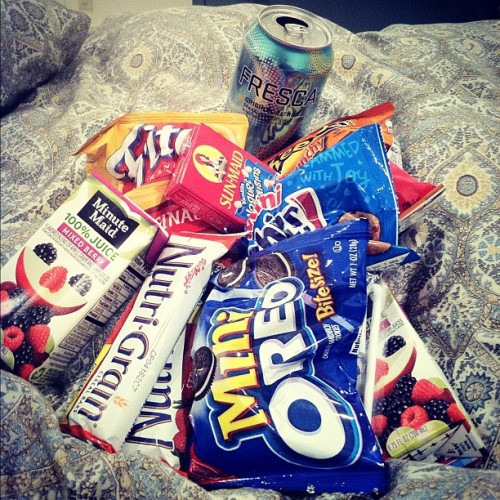 #Midnight #snack #please! xD with @mcluv98  (Taken with Instagram)