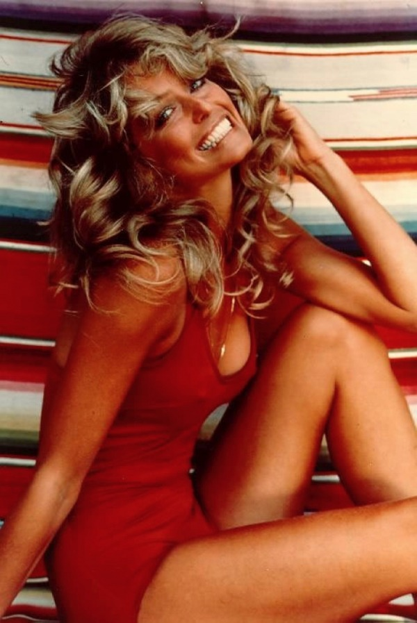 honey-rider:   The epic Farrah Fawcett poster  .  Was it 1977  ?