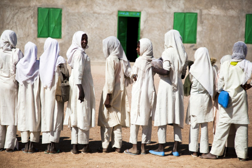 School in Forobaranga, West Darfur (by United Nations Photo)