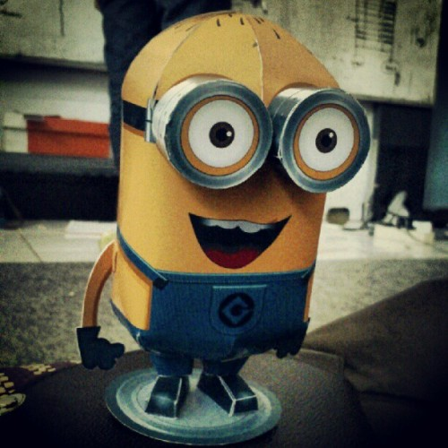 #minions #papercraft (Taken with Instagram)