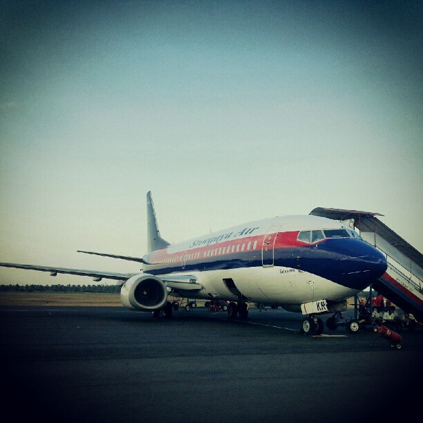 Loading #instagram  #aviation #hobby #sriwijaya #aeroplane #lampung  (Taken with Instagram)