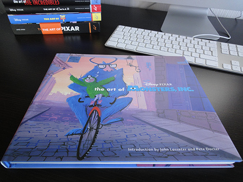 The Art of Monsters, Inc. reprint. For a amazing price on Amazon! :D