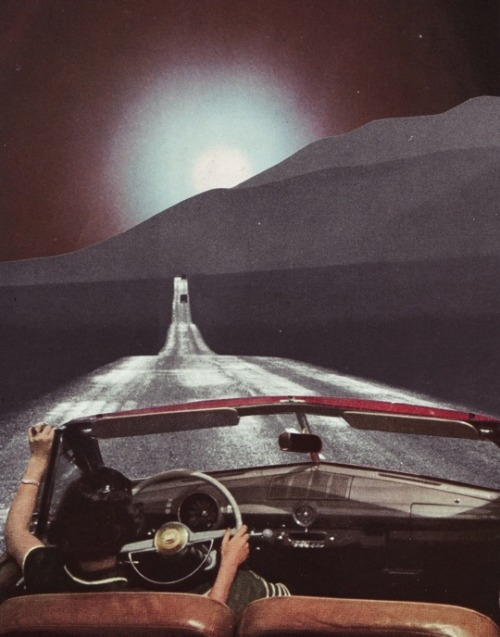rookiemag:  Cruise Control  Driving alone on an open road at night is like being the captain of your own universe.