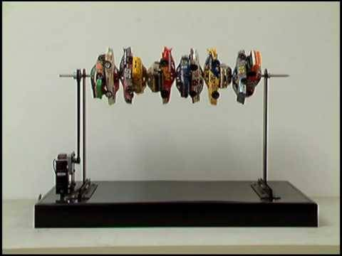 """Car-kebab: A Nascar Barbecue', 2009 Kinetic sculpture"