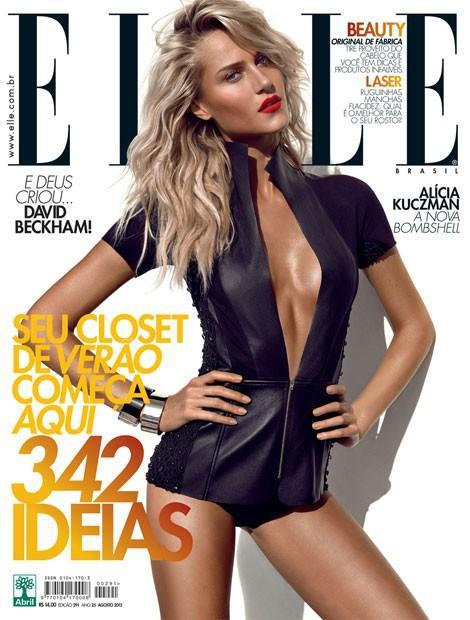 BAAAAM! Alicia K covers ELLE!! Looking pretty HotHotHot Alicia!!