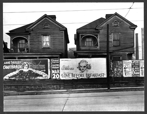 modmargie:  Houses, Atlanta, Georgia. 1936. Photographer: Walker Evans