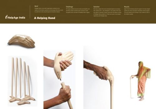 HelpAge India: A helping hand | Ads of the World™