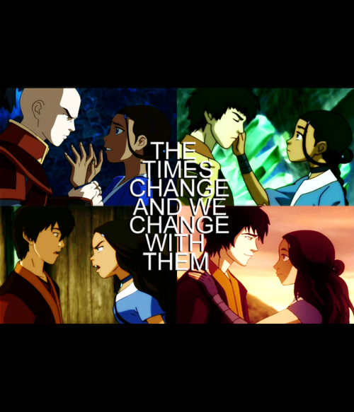 amazingavatar:  Zutara: From haters to best friends.
