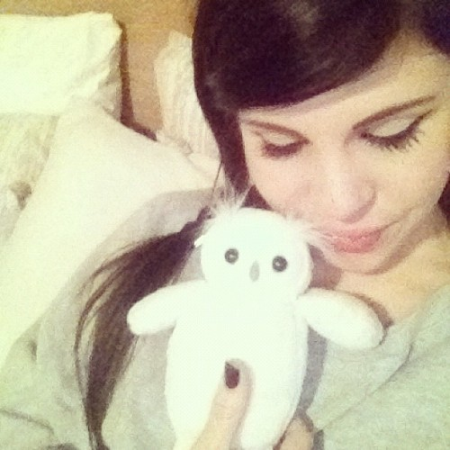 Bed time cuddles with my fave man #owly (Taken with Instagram)