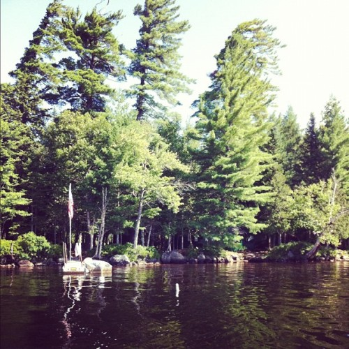 Goodbye #campdash  (Taken with Instagram at Raquette Lake)