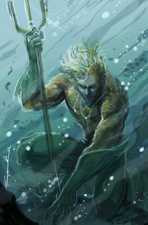 freakun:   Aquaman digital  // by Cinar