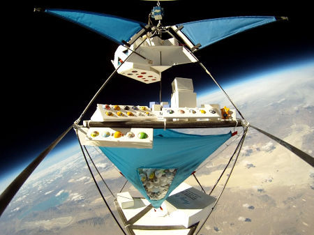 "Nicknamed ""PongSats,"" short for ""Ping-Pong Satellites,"" the balls were chosen as suitable space vessels for their size, weight, and universality."