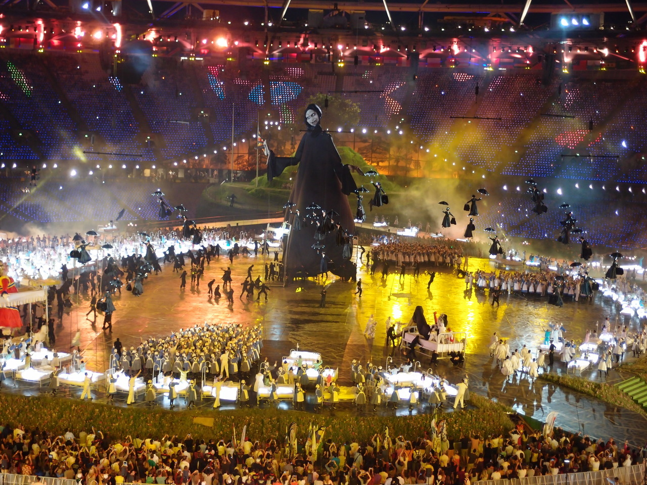 Still trying to wrap your head around this year's Olympics Opening Ceremony? We've got some analysis to help you parse the madness.