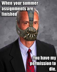 Haha…Tash-Bane? My principal has turned into something else…