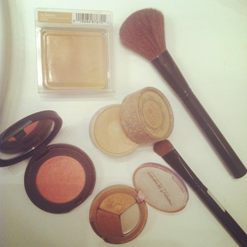 Morning makeup #naturalbeauty  (Taken with Instagram)