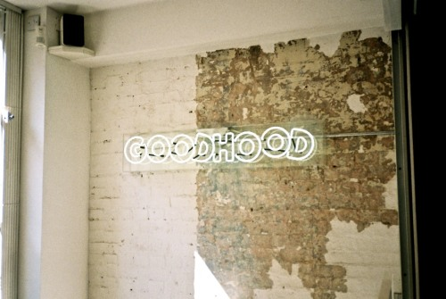 joshuagordonphotography:  Goodhood Store London.