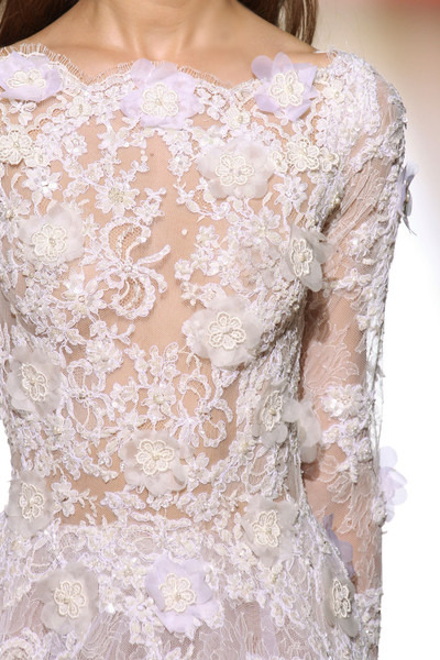 Pure White Flowers & Roses Zuhair Murad Fall Winter 2012 Haute Couture Fashion. More Flower & Roses. August 1st, 2012.