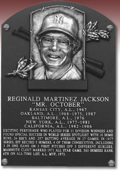 This Day In Baseball History: August 1, 1993 - Reggie Jackson was admitted into the Baseball Hall of Fame in Cooperstown, NY.   keepinitrealsports.tumblr.com  pinterest.com/mysterkeepinit  keepinitrealsports.wordpress.com  facebook.com/pages/KeepinitRealSports/250933458354216  Mobile- m.keepinitrealsports.com