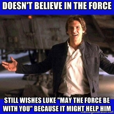 stickymung:  Good guy Han