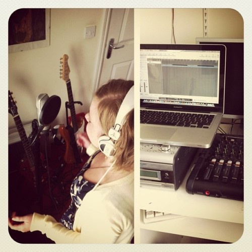 Palma Faith cover in the works - #cover #music #logic #recording #studio  (Taken with Instagram)