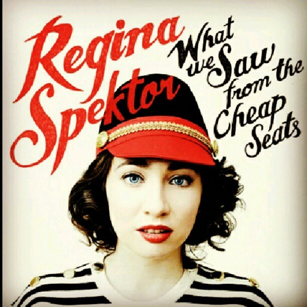 Ahh finally! Regina spektor 2012 #rehginaspektor #whatwesawfromthecheapseats #music #2012 (Taken with Instagram)