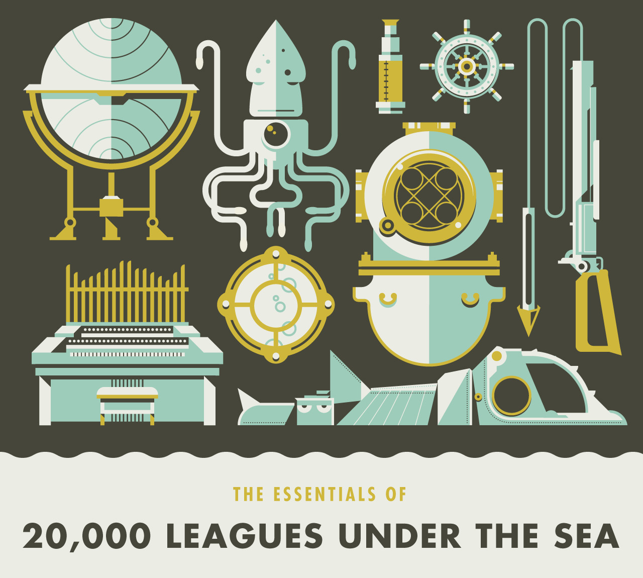 The Essentials of 20,000 Leagues Under the Sea by Justin Mezzell