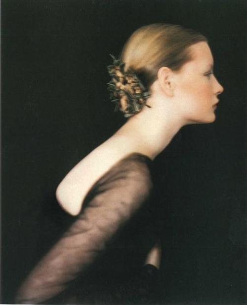 fletchingarrows:  thingforme:  beautiful Kristen Owen by Paolo Roversi  i love the 90s