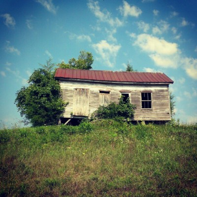 Old house on a hill (Taken with Instagram)
