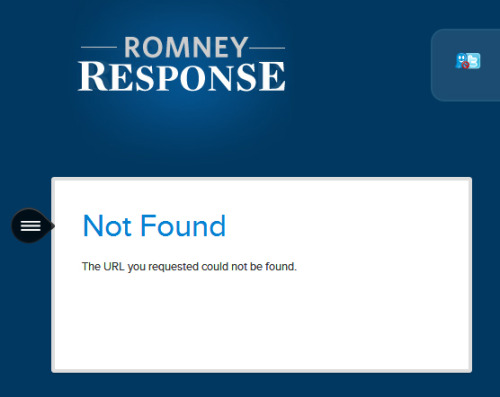"scottfriday:  irony is not being able to ask ""romney response"" a question. your PR crew continues to kill it, mittens.  Go away Mittwitt, nobody likes you."