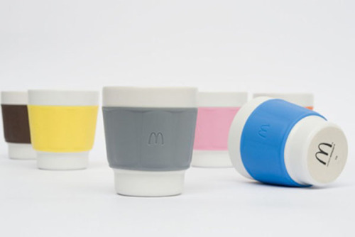 New McDonald's Designer Reusable Coffee Cups