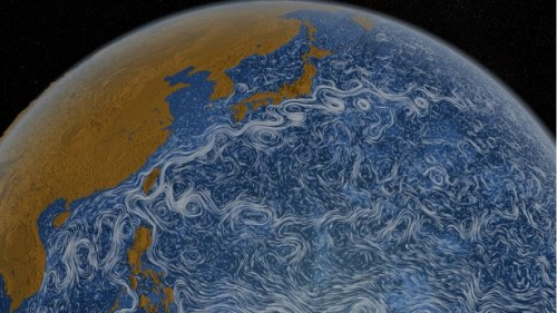 Earth from Space: Two Years of Waves Dancing