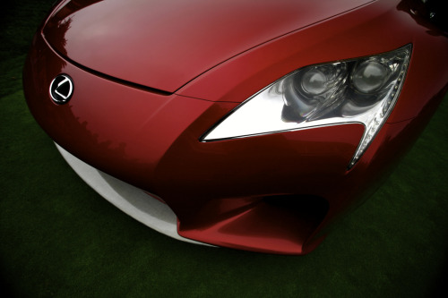 Early stages Starring: Lexus LF-A Roadster Concept (by j.hietter)