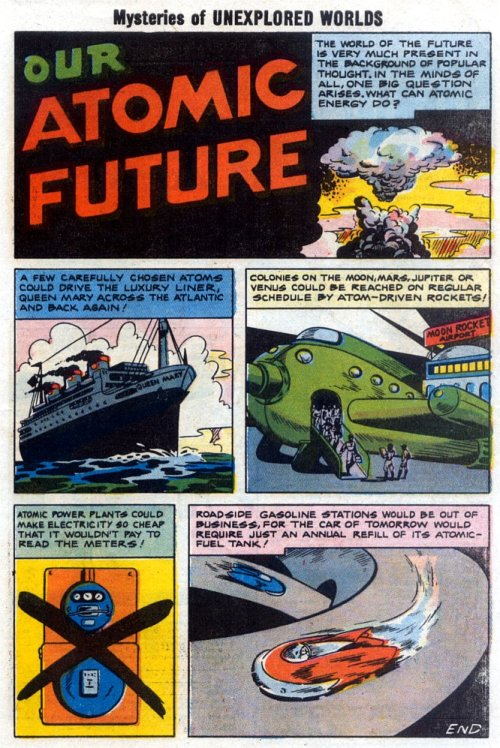 alternateworldcomics:  Our Atomic Futures Missed it by .  . that much.
