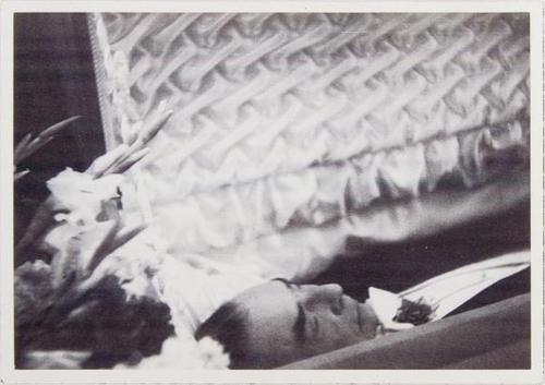 "laravagnati:  Dead Bela Lugosi in his coffin, wearing his full Dracula costume - including the cape. ""To die, to be really dead, that must be glorious."" - Dracula, talking to Lucy and Mina at the opera (Dracula, 1931)"