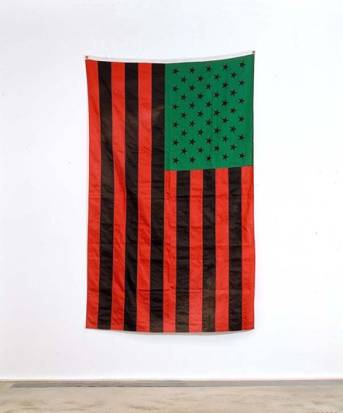 Artwork by David Hammons.
