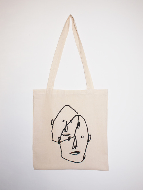 Hand painted tote bag.