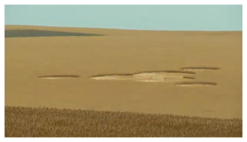 Mysterious crop circles have appeared in an eastern Washington wheat field. Aliens or Hoax? Here's what we know…  Image Courtesy CropCircleConnector.com