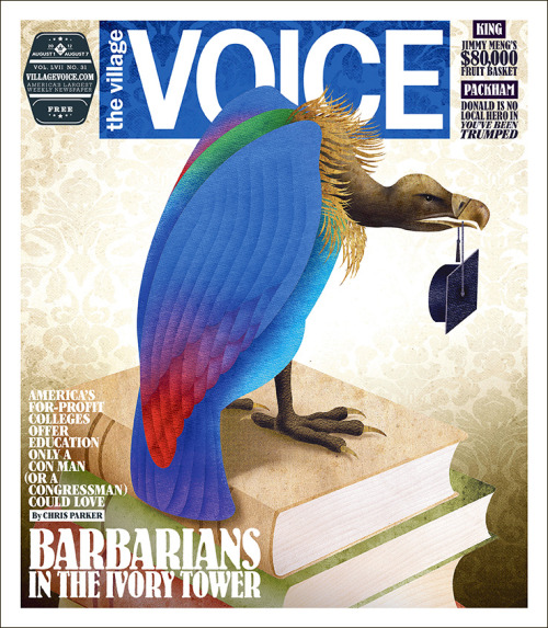 In this week's issue of the Voice, Chris Parker takes a look at for-profit colleges that offer education only a con man (or a Congressman) could love…