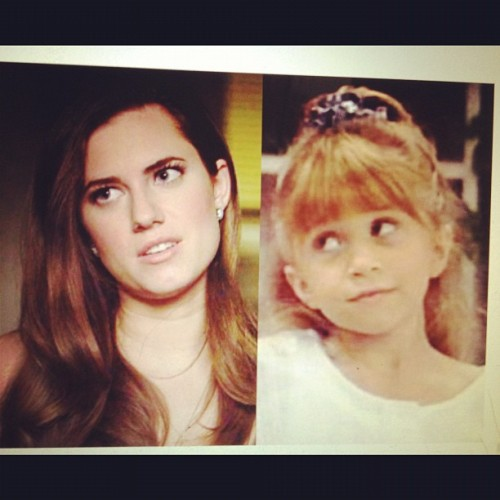 @girlshbo it's almost weird how similar GIRLS is to Full House. On the blog today. #tv #hbogirls #90s #michelle (Taken with Instagram)