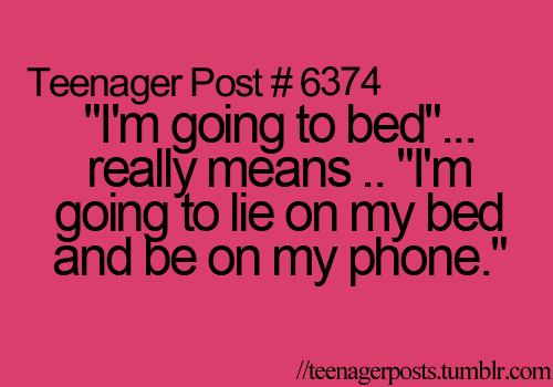 Lol I do this every night!! Teehee ^_^ I'm doing it rigit now!! Lolz